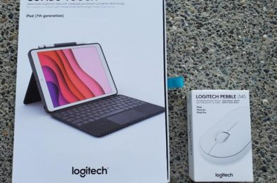 Logitech Combo Contact keyboard and Pebble i345 mouse hands-on: Enhanced productiveness for affordable Apple iPad homeowners