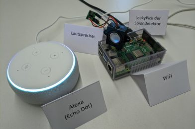 This machine retains Alexa and different voice assistants from snooping on you
