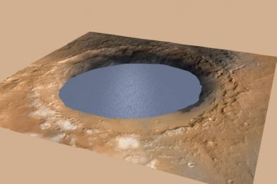 Historical lake websites counsel a lot of precipitation on Mars