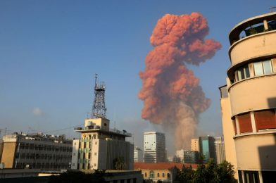 What we all know concerning the huge chemical explosion in Beirut