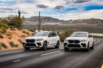 Flip up the game, flip down the utility: The 2020 BMW X5 M and X6 M