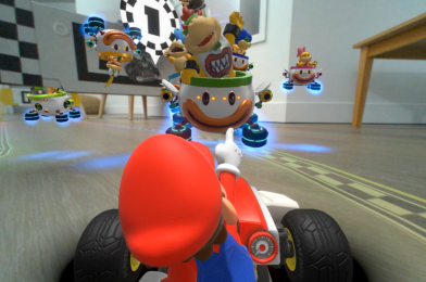 Getting in-depth with Nintendo's augmented actuality Mario Kart RC automotive