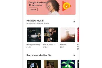 Google Music shuts down sensible speaker help and music retailer