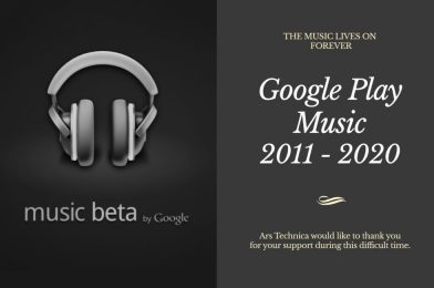 RIP Google Play Music, 2011 – 2020
