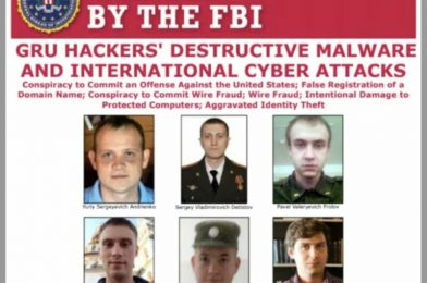 Six Russians accused of the world's most harmful hacks indicted