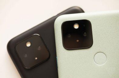Google's Pixel 5 digital camera app involves older Pixel telephones
