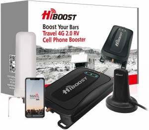 HiBoost Cell Cellphone Sign Booster Journey Equipment: A Stronger Cell Cellphone Sign On the Go