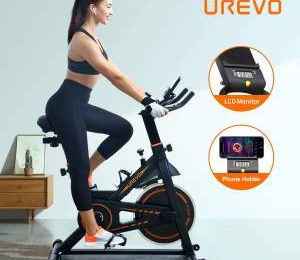 UREVO Indoor Stationary Bike: A Snug Trip and Difficult Exercise