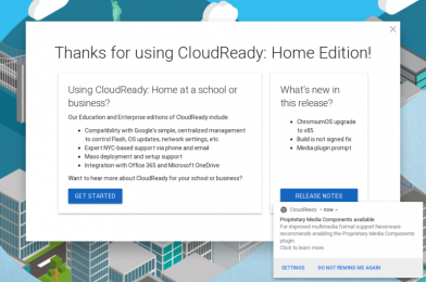 Google purchased CloudReady, the most important ChromiumOS distribution