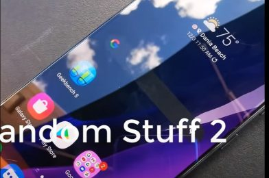 New video of Samsung Galaxy S21 Plus exhibits skinny bezels round a flat show