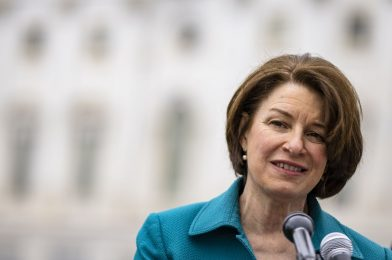 Amy Klobuchar takes goal at 12 vaccine misinformation influencers