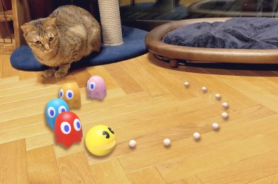 Google provides Pac-Man, Whats up Kitty, Gundam mechs, and extra to AR search