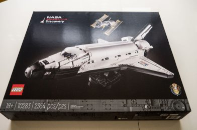 Lego has a brand new 2,354-piece NASA Area Shuttle set, and it's superior